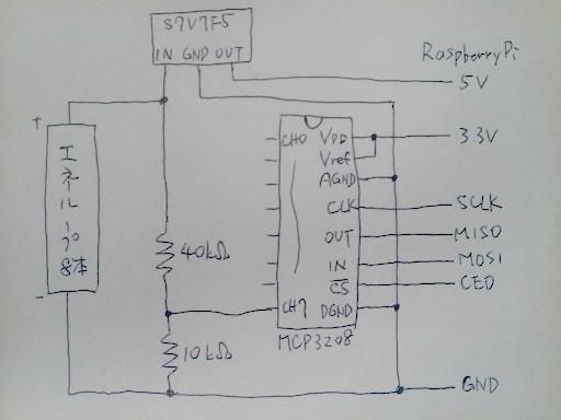ADコンバータ 回路図